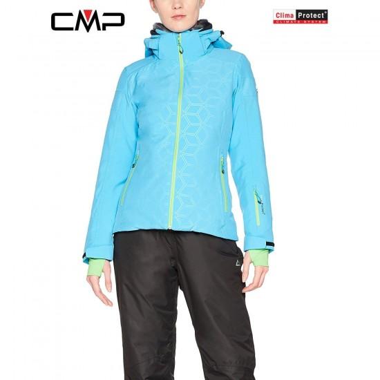 Moteriška slidinėjimo striukė CMP ZIP HOOD JACKET (3W01376)
