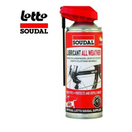 Soudal All Weather Lubricant 400ml