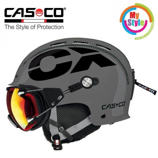 Slidinėjimo šalmas CASCO CX-3 Icecube Grey