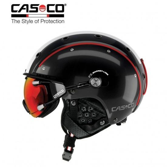 Slidinėjimo šalmas CASCO SP-3 Comp Black-white