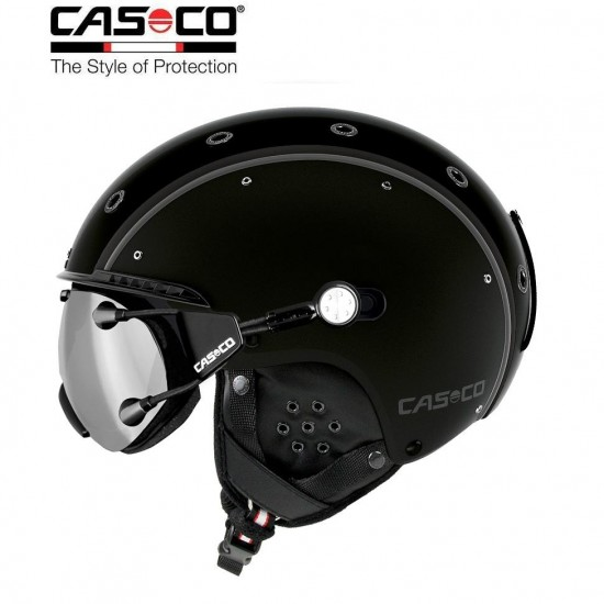 Slidinėjimo šalmas CASCO SP-3 Airwolf  Black