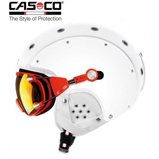 Slidinėjimo šalmas CASCO SP-3 Airwolf  White