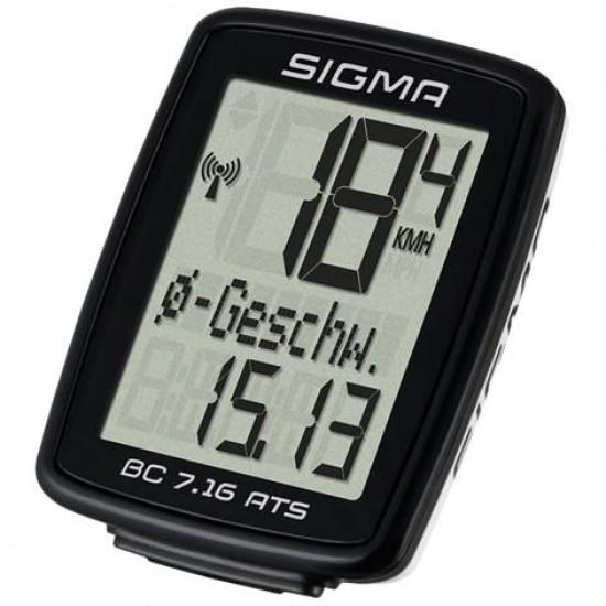Sigma BC 7.16 ATS Black kompiuteriukas