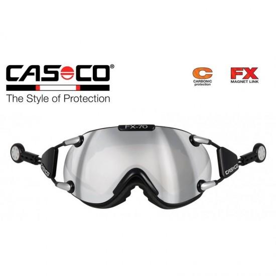 Slidinėjimo akiniai CASCO FX70 Carbonic Black-silver