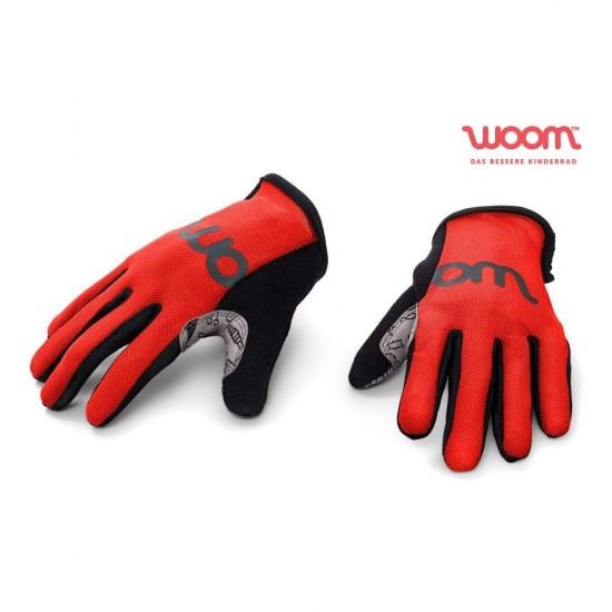 Dviratininko pirštinės WOOM (Red)