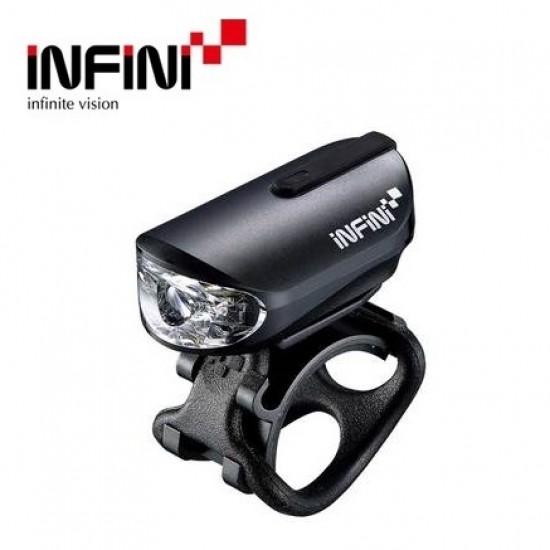 Infini I-210P OLLEY priekinis žibintas (įkraunama nuo USB)