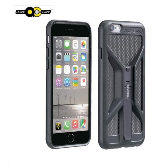 Topeak RideCase iPhone 6 juodas telefono laikiklis