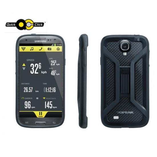 Topeak RideCase Samsung Galaxy S4 juodas telefono laikiklis